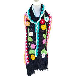 Vrolijke sjaal Folklore patroon