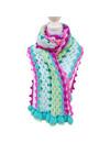 Vrolijke sjaal Orchidee patroon