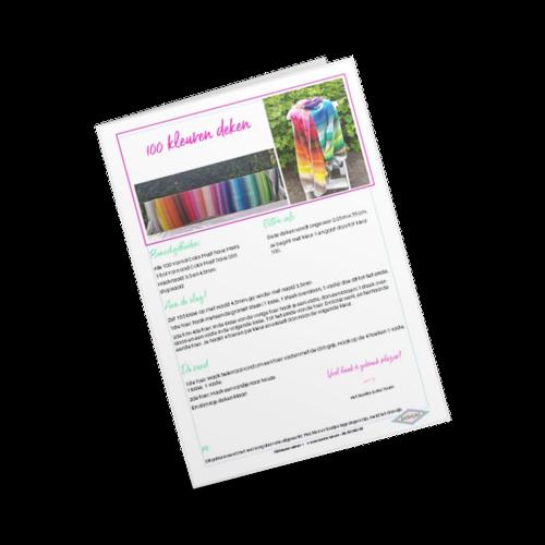 100 Kleurendeken patroon