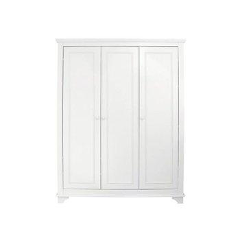 Bopita Bopita Charlotte 3-deurs Kast Wit