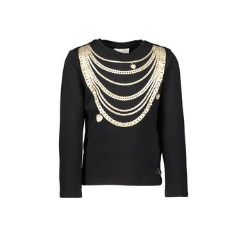 Le Chic Le Chic Gouden Ketting T-shirt