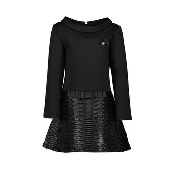 Le Chic Le Chic Leather-look Jurk