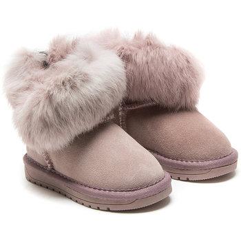 Monnalisa Monnalisa Faux Fur Boots