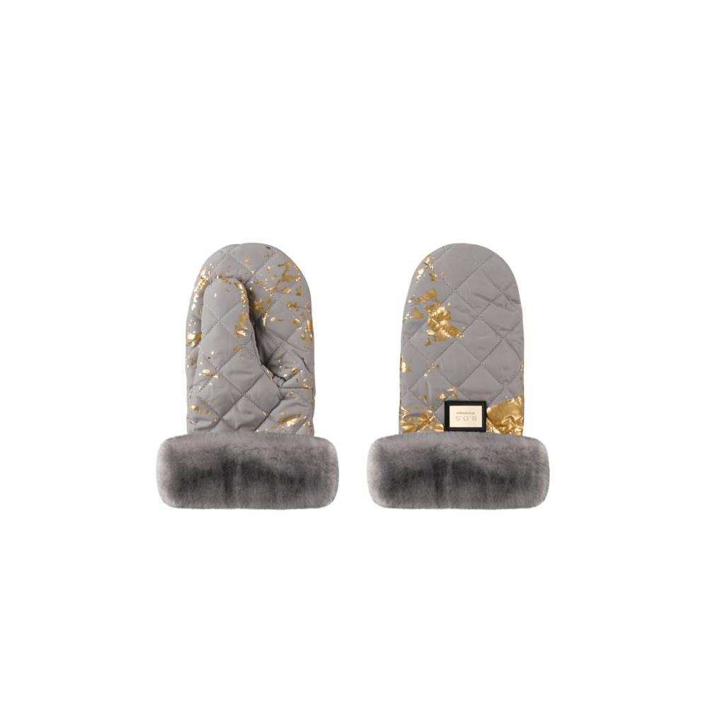 Bjällra Bjällra Grey Golden Handschoenen