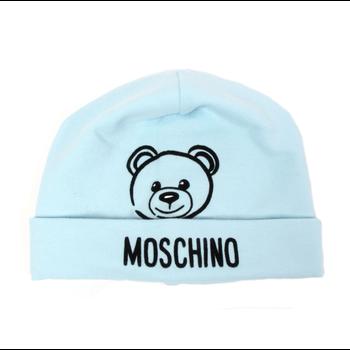 Moschino Moschino Baby Blauwe Muts