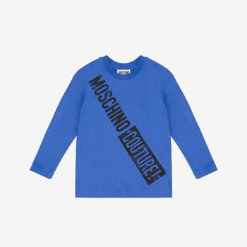 Moschino Moschino Longsleeve Blauw