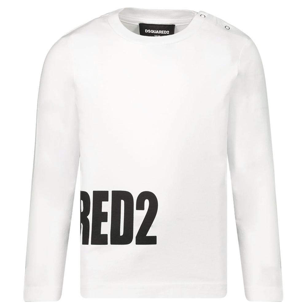 Dsquared2 Dsquared2 logo Zijkant Longsleeve Wit