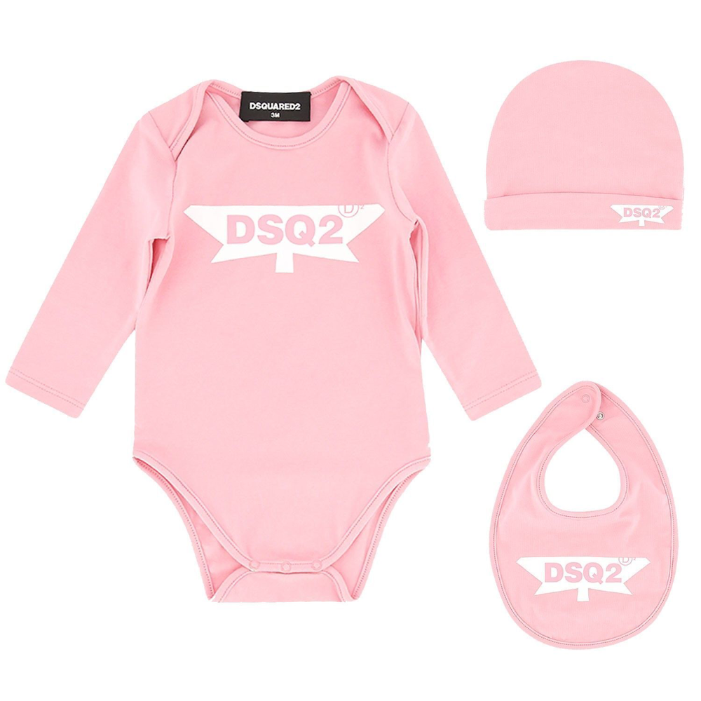 Dsquared2 Dsquared2 Romperset Roze