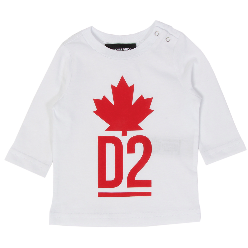 Dsquared2 Dsquared2 Logo Longsleeve wit