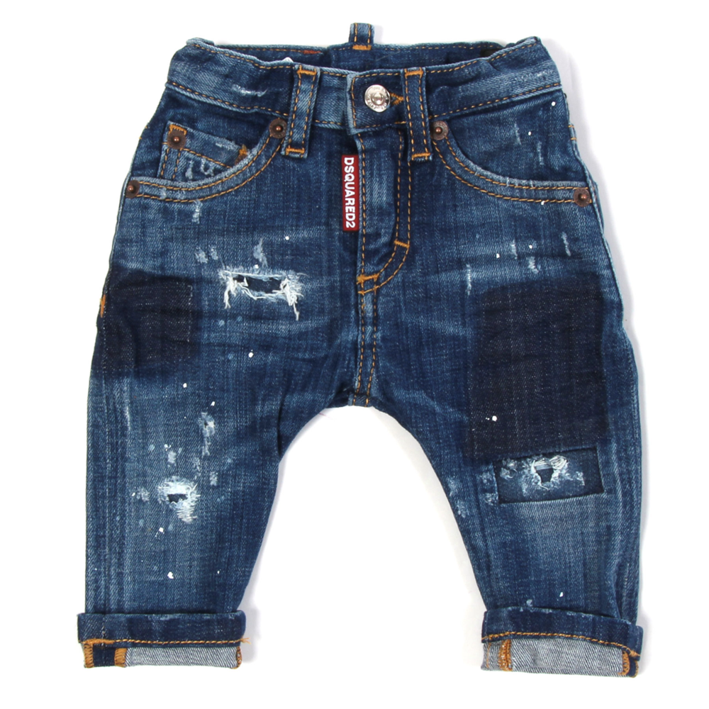 Dsquared2 Dsquared2 Gescheurde Jeans
