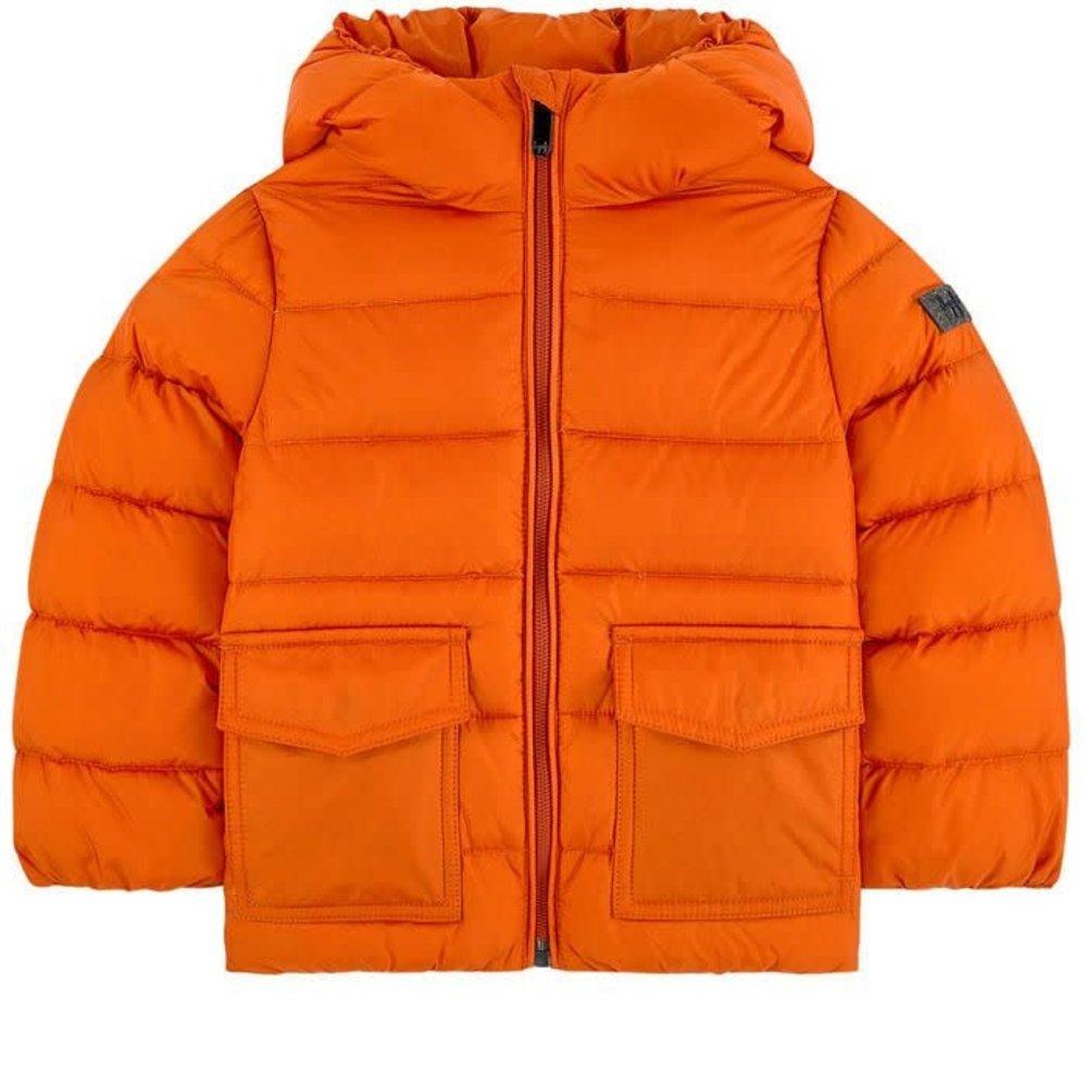 Il Gufo Il Gufo Winterjas Oranje