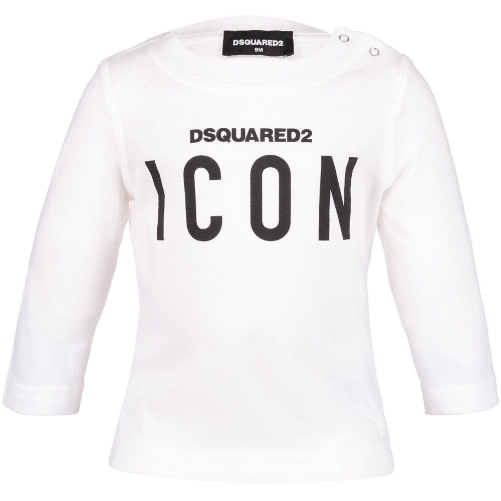 Dsquared2 Dsquared2 Icon Longsleeve Wit