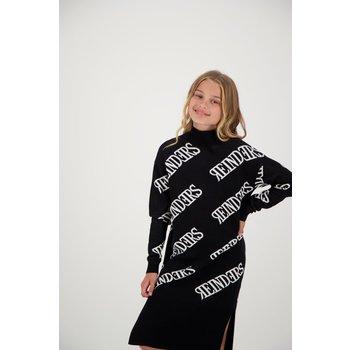 Reinders Reinders Dress All Over Print True Black