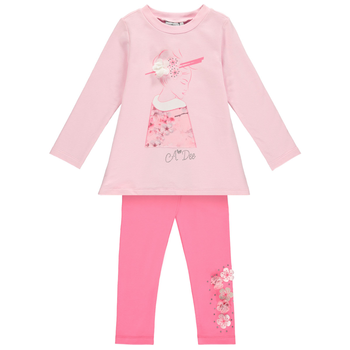 A Dee Adee 2-delig setje Nelly Blossom Roze