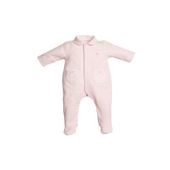 First First Teddy on back Babypakje Roze