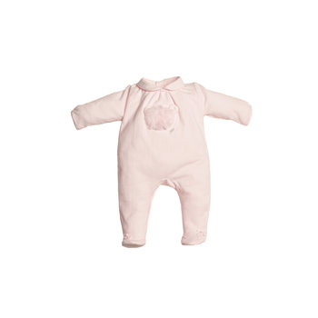 First First Fluffy Teddy on front Babypakje Roze