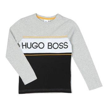 Hugo Boss Boss Longsleeve Grijs/Geel