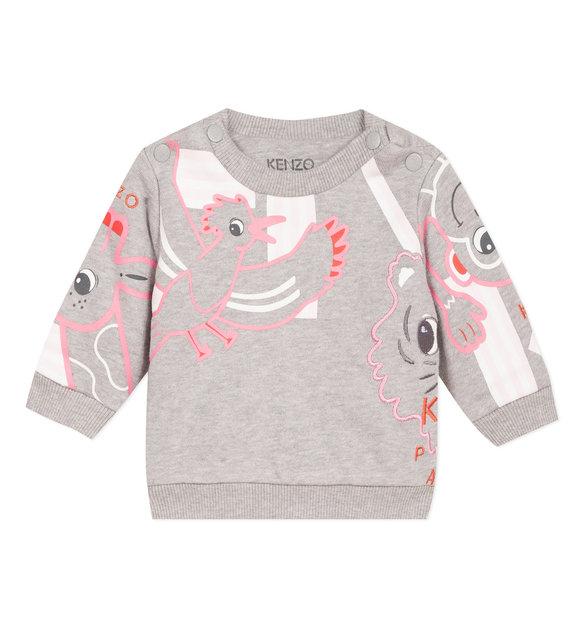 Kenzo Kenzo Sweater Grijs Poppedoll