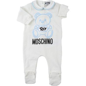 Moschino Moschino Babypakje Creme/Blauw