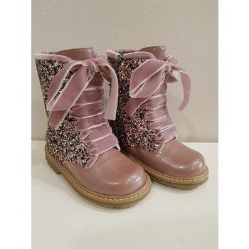 Eli Eli Glitter Boots Lila