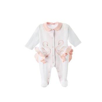 Sofija Sofija Babypakje met Zwaantje Wit/Roze