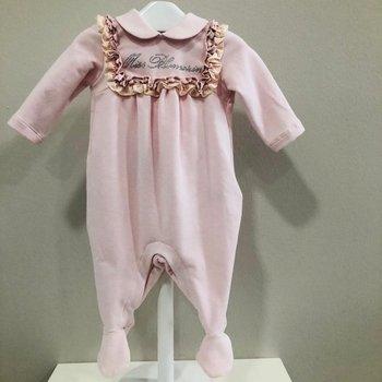 Miss Blumarine Blumarine Babypakje met Ruffles Roze