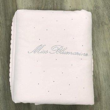 Miss Blumarine Blumarine Deken/Omslagdoek met Strass Roze