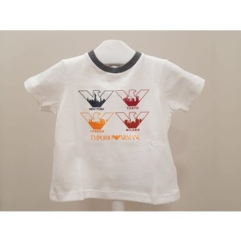 Armani Armani T-shirt Creme