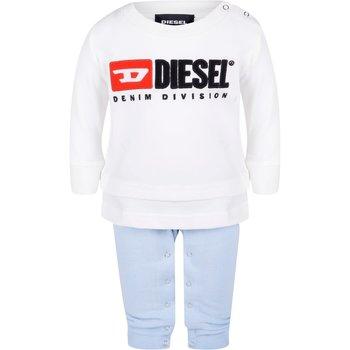 Diesel Diesel Babypakje Creme/Blauw