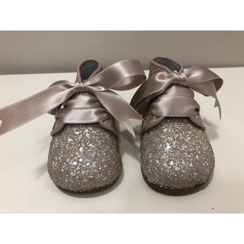 Mimilü Mimilú Glitter Schoenen Nude