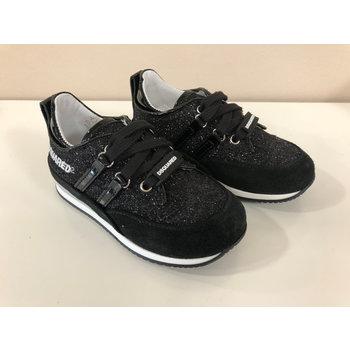 Dsquared2 Dsquared2 Glitter Sneakers Zwart