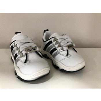 Dsquared2 Dsquared2 Sneakers met Zwart/Zilveren Strepen