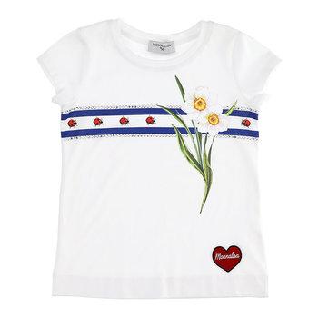 Monnalisa Monnalisa Ladybug Strass Tshirt