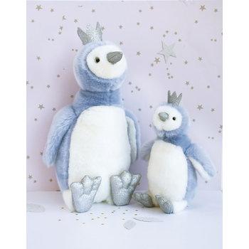 Doudou et Compagnie Histoire Pingiun Blauw 30cm