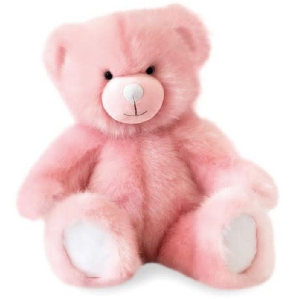Doudou et Compagnie Doudou Knuffelbeer Roze 40 cm