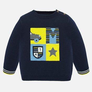 Mayoral Mayoral Car Sweater Blauw