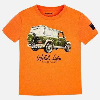 Mayoral Mayoral Jeep T-shirt Oranje