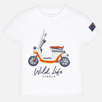 Mayoral Mayoral Scooter T-shirt Wit