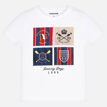 Mayoral Mayoral Shield T-shirt Wit