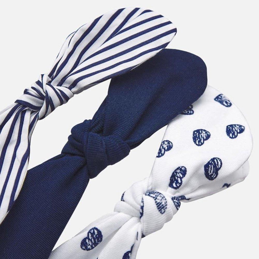 Mayoral Mayoral Haarband Set Blauw