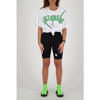 Reinders Reinders Bolt Oversized T-Shirt  White/ Neon Green