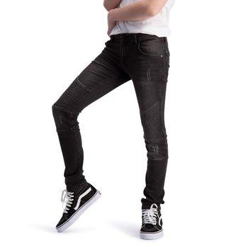Boof Boof Robin Biker Black Jeans