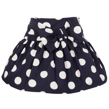 Balloon Chic Balloon Chic Polkadot Rok Blauw