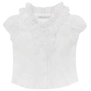 Balloon Chic Balloon Chic Ruffle Blouse Wit