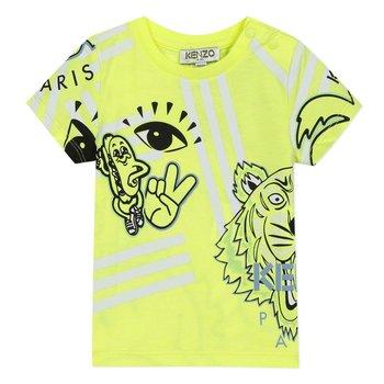 Kenzo Kenzo Hotdog T-shirt Lime