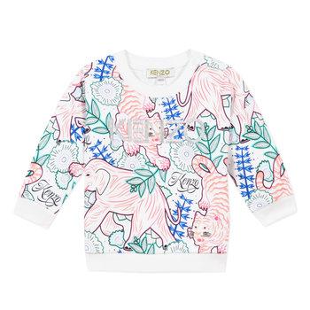 Kenzo Kenzo Wildlife logo Sweater Roze/Blauw