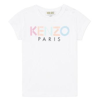 Kenzo Kenzo Logo T-shirt Roze/Blauw