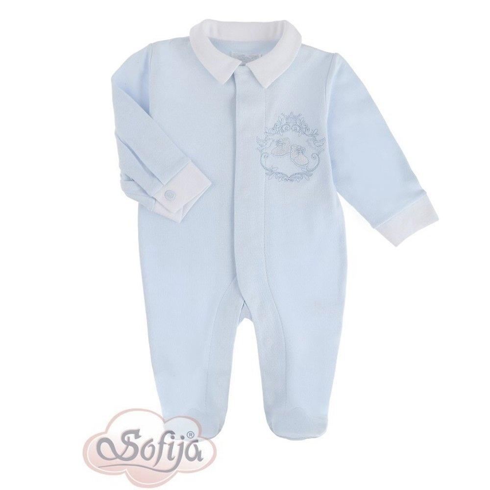 Sofija Sofija Babypakje met Schoentjes Blauw