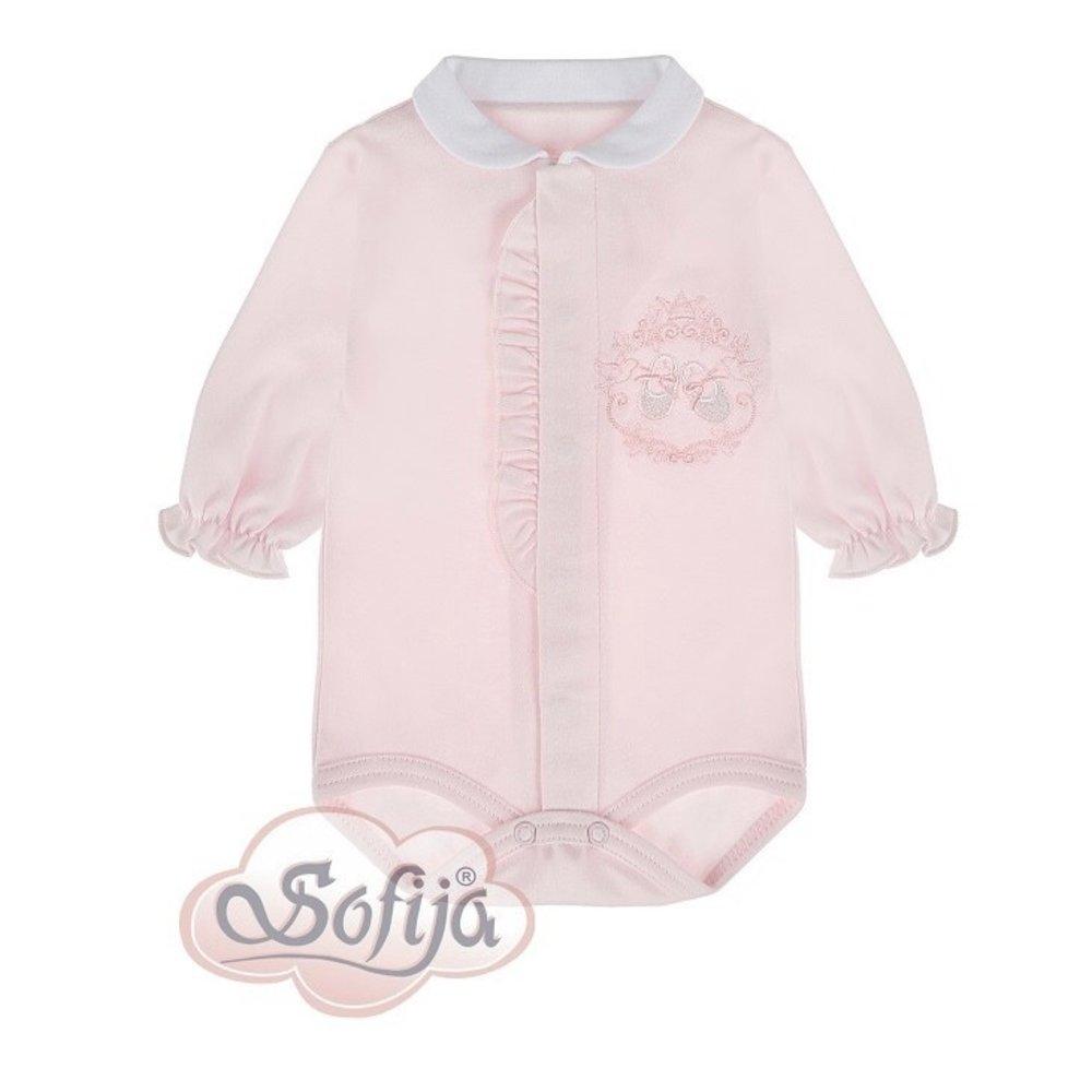 Sofija Sofija Romper met Babyschoentjes Roze