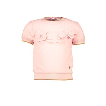 Le Chic Le Chic Ruffle T-shirt Roze